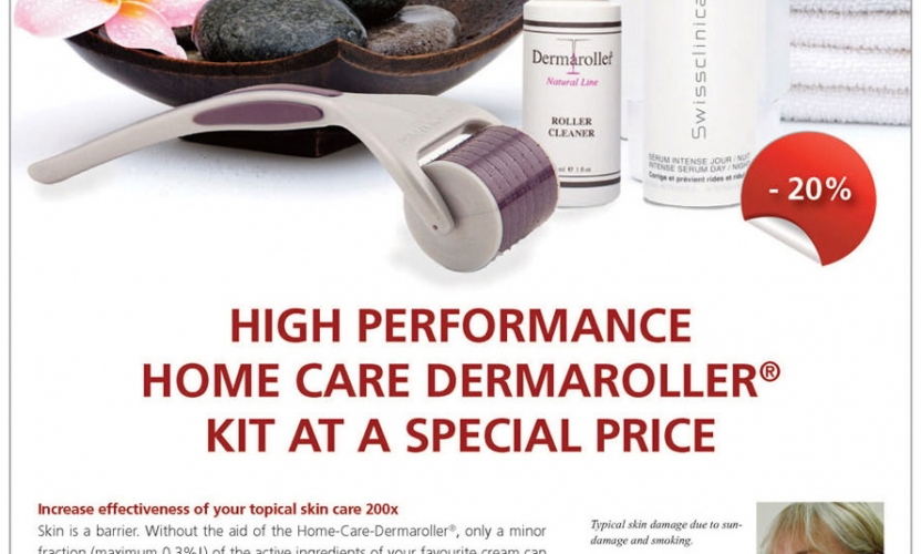 Dermaroller; Non-Surgical, Non-Laser, and All-Natural Skin Treatment